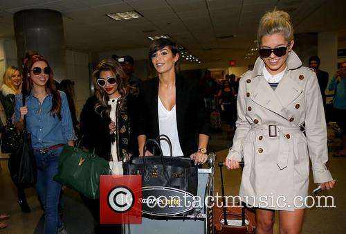 Una Healy, Vanessa White, Frankie Sandford and Mollie King 22