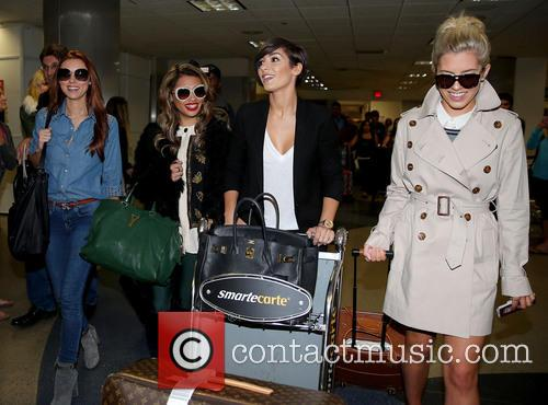 Una Healy, Vanessa White, Frankie Sandford and Mollie King 23