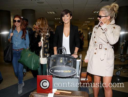 Una Healy, Vanessa White, Frankie Sandford and Mollie King 7