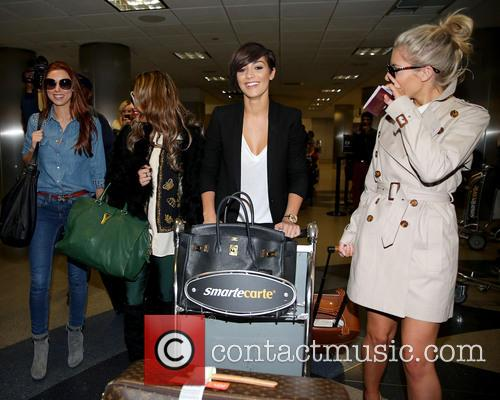 Una Healy, Vanessa White, Frankie Sandford and Mollie King 14