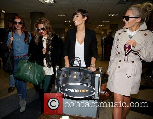 Una Healy, Vanessa White, Frankie Sandford and Mollie King 19