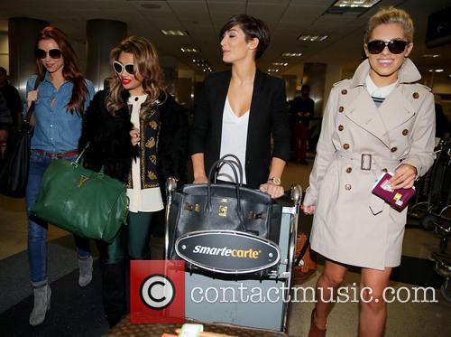 Una Healy, Vanessa White, Frankie Sandford and Mollie King 34