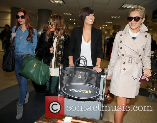 Una Healy, Vanessa White, Frankie Sandford and Mollie King 32