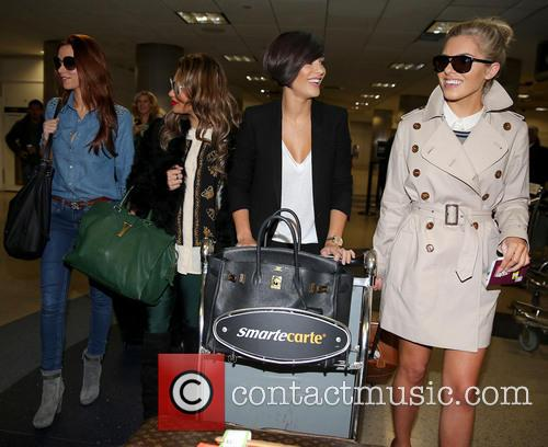 Una Healy, Vanessa White, Frankie Sandford and Mollie King 26