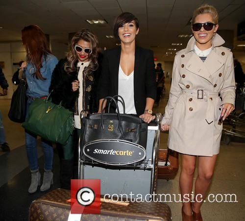 Una Healy, Vanessa White, Frankie Sandford and Mollie King 29