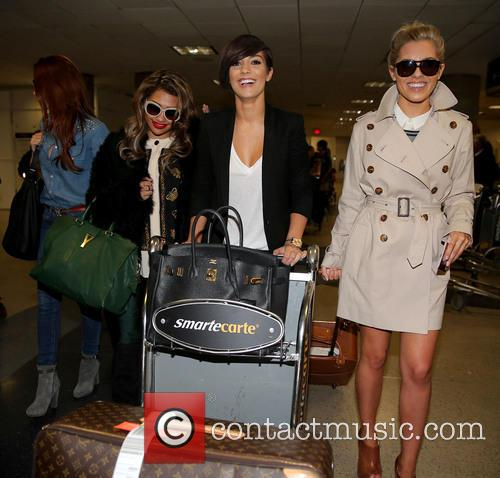Una Healy, Vanessa White, Frankie Sandford and Mollie King 11