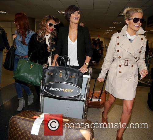 Una Healy, Vanessa White, Frankie Sandford and Mollie King 3