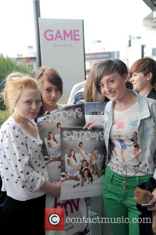 Fans, The Saturdays and Birmingham's Fort Dunlop 3