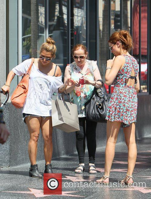 Una Healy goes sightseeing with her mother, daughter...