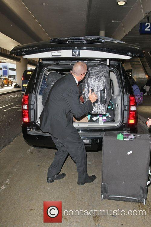 A huge amount of luggage belonging to The...