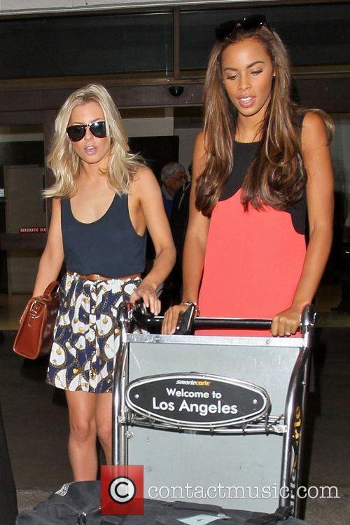 Mollie King, Rochelle Wiseman and The Saturdays 2