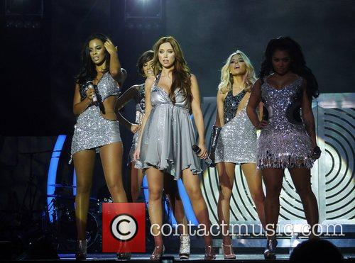 Rochelle Wiseman, Frankie Sandford, Mollie King, Una Healy, Vanessa White and Bournemouth International Centre 3