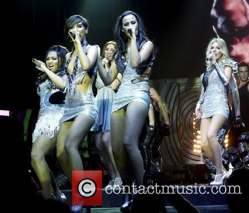 Rochelle Wiseman, Frankie Sandford, Mollie King, Una Healy, Vanessa White and Bournemouth International Centre 6