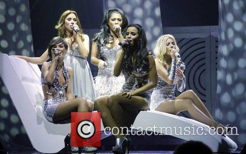 Rochelle Wiseman, Frankie Sandford, Mollie King, Una Healy, Vanessa White and Bournemouth International Centre 2