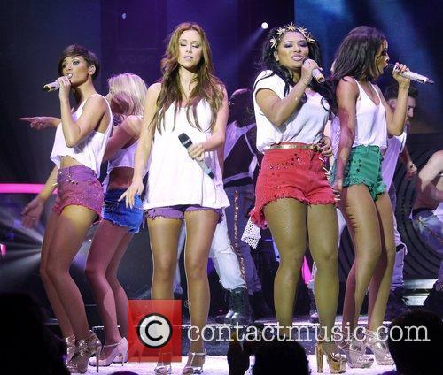 Rochelle Wiseman, Frankie Sandford, Mollie King, Una Healy, Vanessa White and Bournemouth International Centre 11
