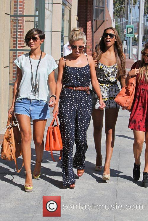Frankie Sandford, Mollie King, Rochelle Wiseman and Vanessa White 5