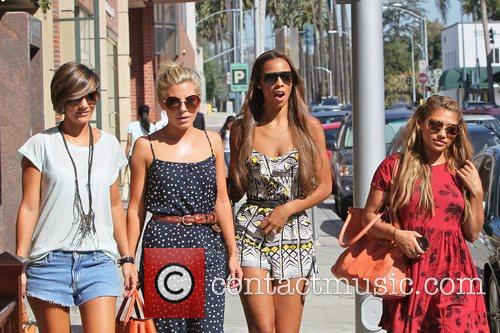 Frankie Sandford, Mollie King, Rochelle Wiseman and Vanessa White 6
