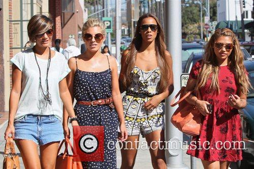 Frankie Sandford, Mollie King, Rochelle Wiseman and Vanessa White 8