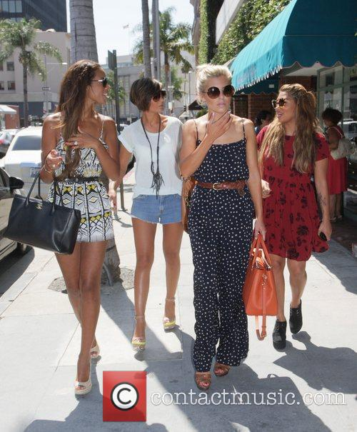 Frankie Sandford, Mollie King, Rochelle Wiseman and Vanessa White 10