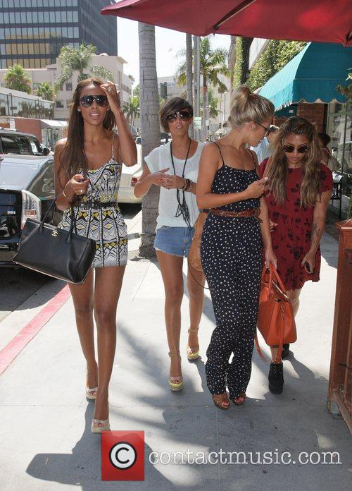 Frankie Sandford, Mollie King, Rochelle Wiseman and Vanessa White 11
