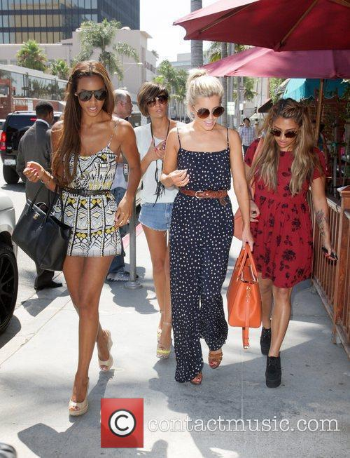 Frankie Sandford, Mollie King, Rochelle Wiseman and Vanessa White 13