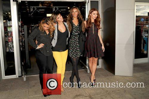 Vanessa White, Frankie Sandford, Rochelle Humes and Una Healy 1