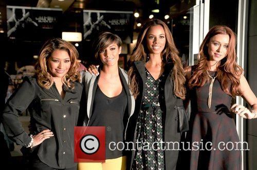 Vanessa White, Frankie Sandford, Rochelle Humes and Una Healy 4