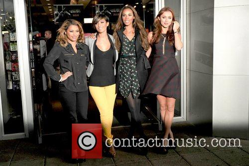Vanessa White, Frankie Sandford, Rochelle Humes and Una Healy 5