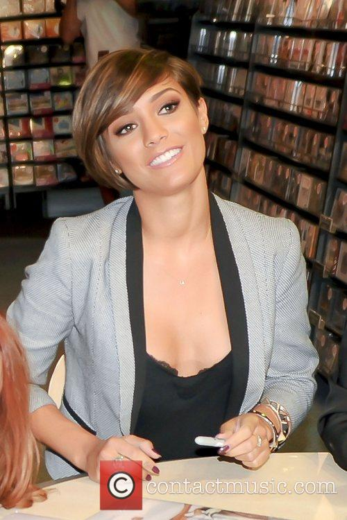 frankie sandford of the saturdays signing at 4086965