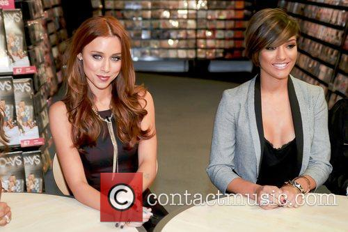 Una Healy and Frankie Sandford,  of The...