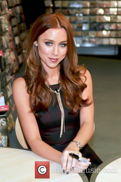 Una Healy,  of The Saturdays signing at...
