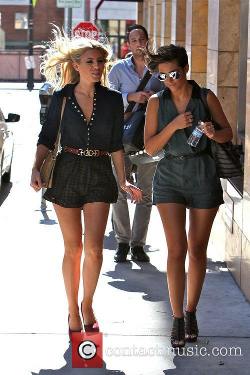Mollie King and Frankie Sandford 6