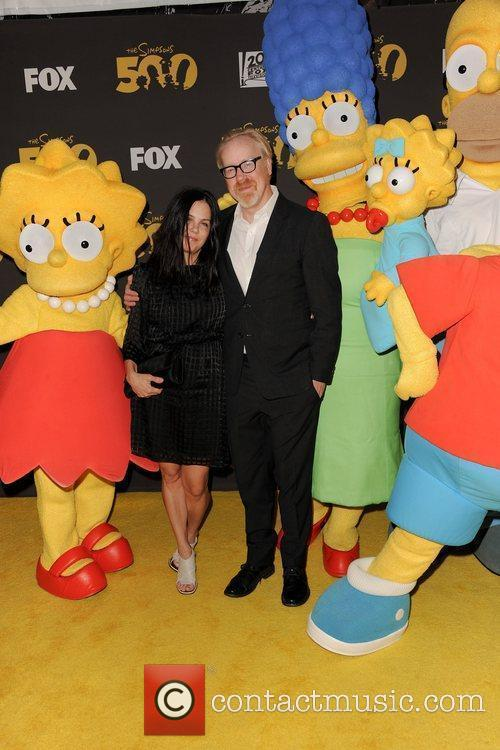 adam savage myth busters the simpsons 500th 3729157
