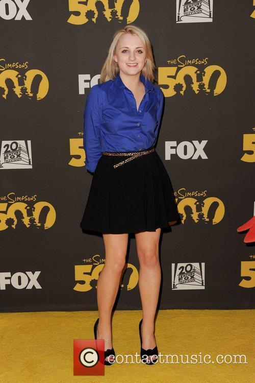 Evanna Lynch,  The Simpsons 500th Episode Celebration...