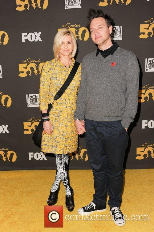 Mark Hoppus (Blink 182) and wife,  The...