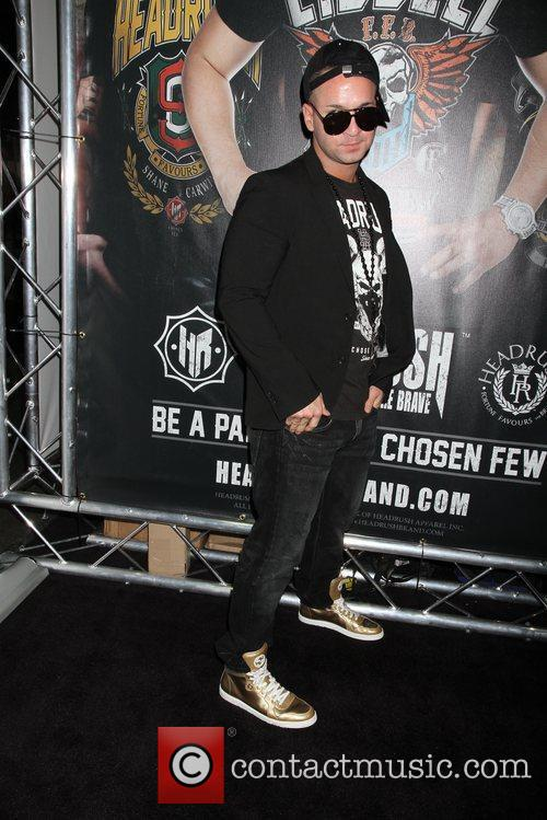 Mike 'The Situation' Sorrentino appears at the MAGIC...