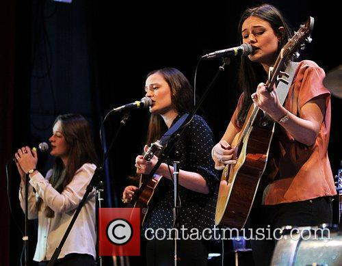 Emily, Camilla and Jessica Staveley-Taylor of The Staves...