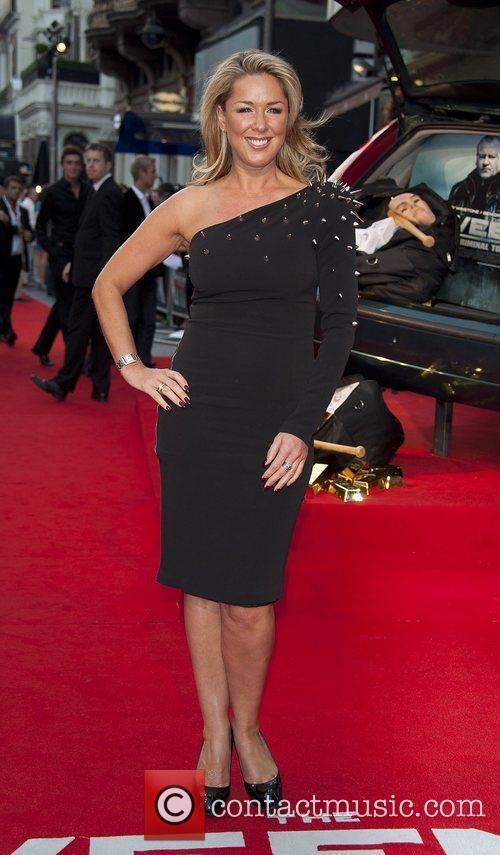 Claire Sweeney attending the film premiere of The...