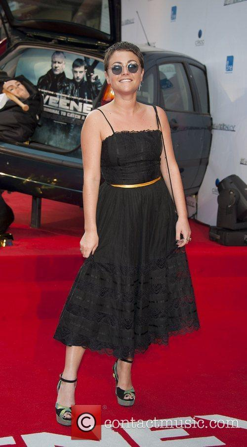 Jaime Winstone attending the film premiere of The...
