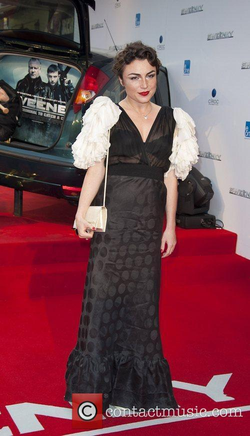 Lois Winstone attending the film premiere of The...