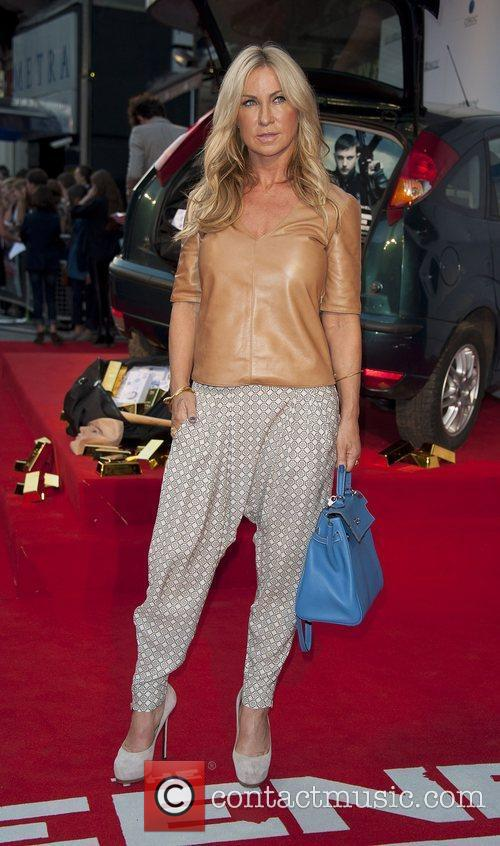 Meg Matthews attending the film premiere of The...