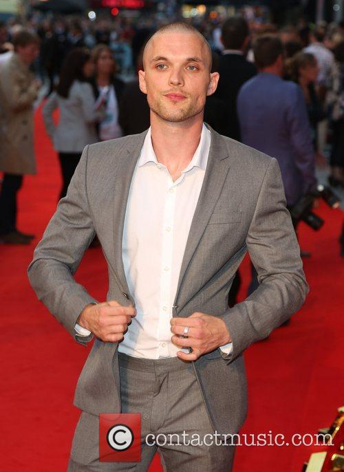 Ed Skrein The Sweeney UK film premiere held...