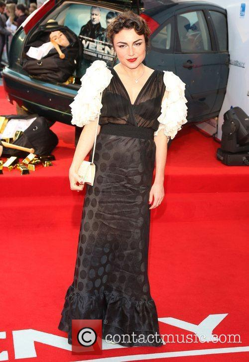 Lois Winstone The Sweeney UK film premiere held...