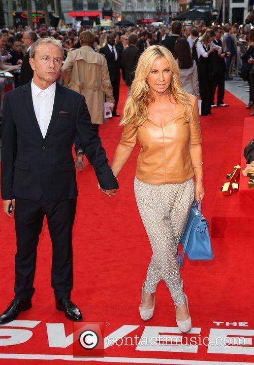 Meg Mathews and boyfriend The Sweeney UK film...