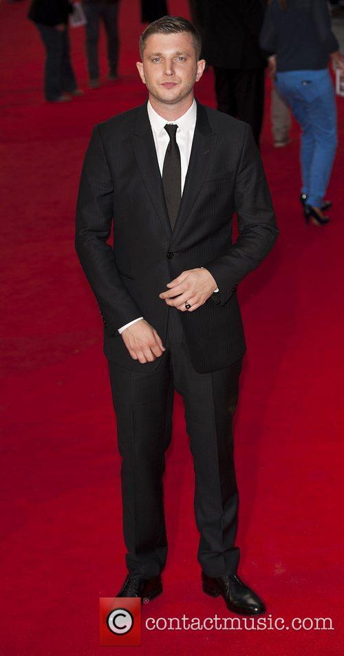 Ben Drew at The Sweeney UK film premiere...