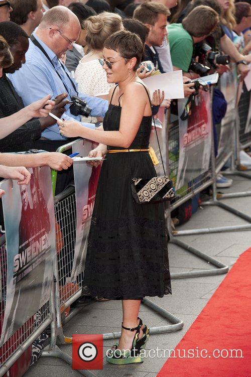 Lois Winstone at The Sweeney UK film premiere...