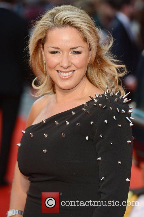 Clare Sweeney at the premiere of The Sweeney...