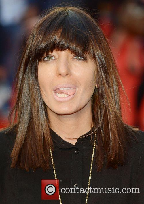 Claudia Winkleman at the premiere of The Sweeney...
