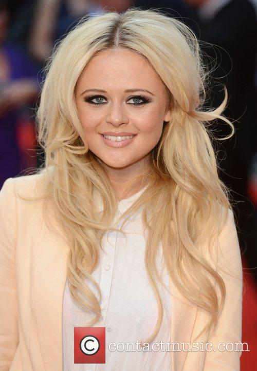 Emily Atack at the premiere of The Sweeney...