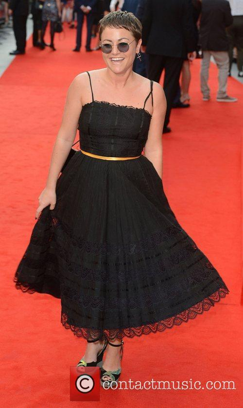 Jaime Winstone at the premiere of The Sweeney...